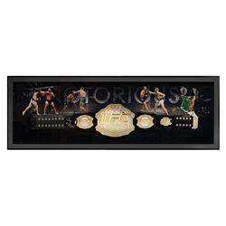Conor McGregor Signed 24x64 Custom Framed UFC Championship Belt Display (Fanatics Hologram)
