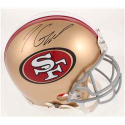 Jimmy Garoppolo Signed San Francisco 49ers Full Size Authentic On-Field Helmet (TriStar Hologram)