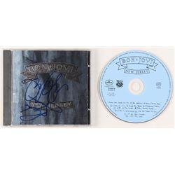 """Jon Bon Jovi  Richie Sambora Signed Bon Jovi """"New Jersey"""" CD Album (JSA COA  REAL LOA)"""
