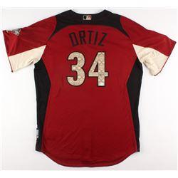 David Ortiz Signed Boston Red Sox 2011 American League All-Star Game Jersey (JSA LOA)