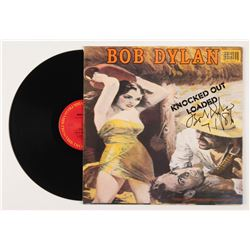"Bob Dylan Signed ""Knocked Out Loaded"" Vinyl Record Album Inscribed ""7 1 86"" (REAL LOA  JSA ALOA)"