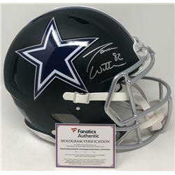 Jason Witten Signed Dallas Cowboys Matte Black Full-Size Authentic On-Field Speed Helmet (Fanatics H