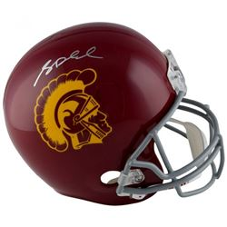 Sam Darnold Signed USC Trojans Full-Size Helmet (Fanatics Hologram)