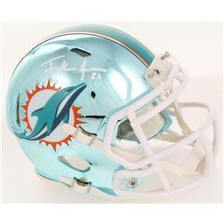 Frank Gore Signed Miami Dolphins Chrome Speed Mini Helmet (JSA COA)