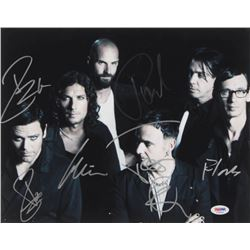 """""""Rammstein"""" Signed 11x14 Photo Band-Signed by (6) with Till Lindermann, Richard Z. Kruspe, Paul Land"""