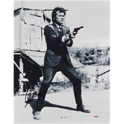 "Clint Eastwood Signed ""Dirty Harry"" 11x14 Photo (PSA LOA)"
