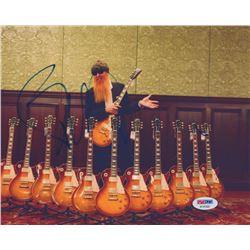 Billy Gibbons Signed 8x10 Photo (PSA COA)