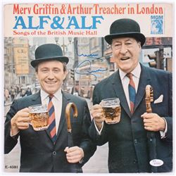 "Merv Griffin Signed ""'Alf  'Alf Songs of the British Music Hall"" Vinyl Record Album (JSA Hologram)"