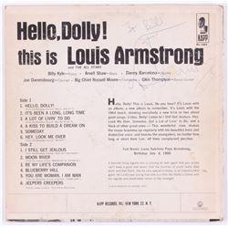 "Louis Armstrong Signed ""Hello, Dolly!"" Vinyl Record Album (JSA LOA)"