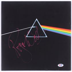 """Roger Waters Signed Pink Floyd """"The Dark Side of the Moon"""" Vinyl Record Album (PSA COA)"""