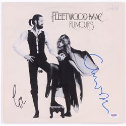 "Lindsey Buckingham  Christine McVie Signed Fleetwood Mac ""Rumours"" Vinyl Record Album (PSA COA)"