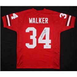 Herschel Walker Signed Jersey (Beckett COA)