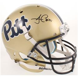 James Conner Signed Pittsburgh Panthers Full-Size Helmet (Radtke COA)