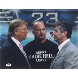 "Vince McMahon Signed ""WWE"" 11x14 Photo (PSA COA)"