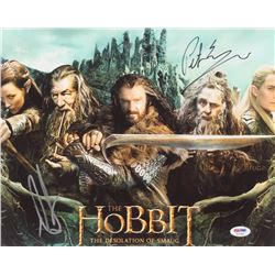 "Peter Jackson  Richard Armitage Signed ""The Hobbit"" 11x14 Photo (PSA COA)"