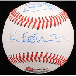 Kevin Eastman Signed OL Baseball with Hand-Drawn Turtles Sketch (PA COA)