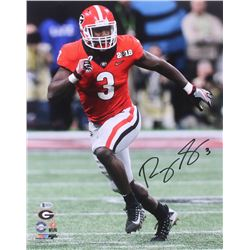 Roquan Smith Signed Georgia Bulldogs 16x20 Photo (Beckett COA)