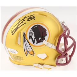 Santana Moss Signed Washington Redskins Blaze Speed Mini-Helmet (JSA COA)