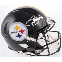 Le'Veon Bell Signed Pittsburghh Steelers Full-Size Authentic On-Field Speed Helmet (JSA COA)