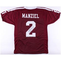 "Johnny Manziel Signed Jersey Inscribed ""'12 Heisman"" (JSA COA)"