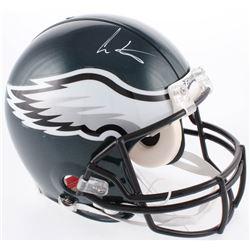 Cris Carter Signed Philadelphia Eagles Full-Size Authentic On-Field Helmet (JSA COA)