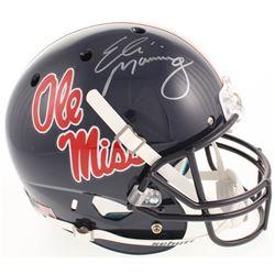 Eli Manning Signed Ole Miss Rebels Full-Size Helmet (Steiner Hologram)