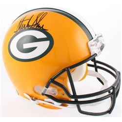 Sterling Sharpe Signed Green Bay Packers Full-Size Authentic On-Field Helmet (Radtke COA)