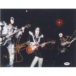 "Gene Simmons Signed ""KISS"" 11x14 Photo (PSA COA)"