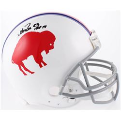 "Andre Reed Signed Buffalo Bills Throwback Full-Size Authentic On-Field Helmet Inscribed ""HOF 14"" (Ra"