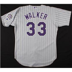 Larry Walker Game-Worn Colorado Rockies Jersey (100% Authentic LOA)