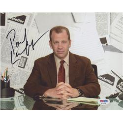 "Paul Lieberstein Signed ""The Office"" 8x10 Photo (PSA Hologram)"