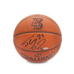 Shaquille O'Neal Signed Spalding 4X NBA Champion Basketball (UDA COA)