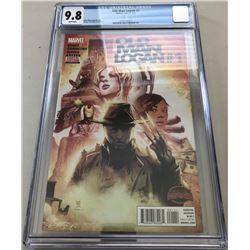 "2015 ""Old Man Logan"" Issue #1A Marvel Comic Book (CGC 9.8)"