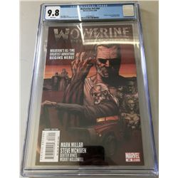 """2008 """"Wolverine"""" 2nd Series Issue #66A Marvel Comic Book (CGC 9.8)"""