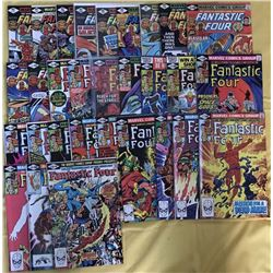"""Run of (30) 1979-1981 """"Fantastic Four"""" 1st Series Marvel Comic Books with #207-236"""