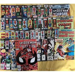 """Run of (37) 1981-84 """"Marvel Team-Up"""" 1st Series Marvel Comic Books with #104-140"""