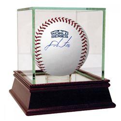 J.D. Martinez Signed 2018 World Series Logo Baseball (Steiner COA)