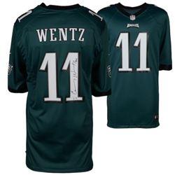 "Carson Wentz Signed Philadelphia Eagles Jersey Inscribed ""AO1"" (Fanatics Hologram)"
