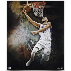 "Ben Simmons Signed Philadelphia 76ers ""Reverse"" 20x24 Photo (UDA COA)"