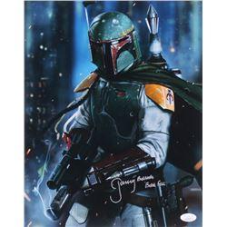 "Jeremy Bulloch Signed ""Star Wars"" 11x14 Photo Inscribed ""Boba Fett"" (JSA COA)"