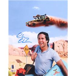"Chevy Chase Signed ""National Lampoon's Vacation"" 11x14 Photo (Beckett COA)"