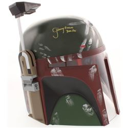 "Jeremy Bulloch Signed ""Star Wars"" Boba Fett Full-Size Helmet Inscribed ""Boba Fett"" (JSA Hologram)"