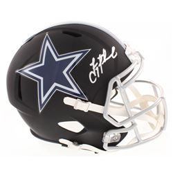 Troy Aikman Signed Dallas Cowboys Full-Size Matte Black Speed Helmet (Beckett COA)