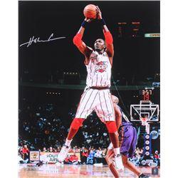 Hakeem Olajuwon Signed Houston Rockets 16x20 Photo (Beckett COA)