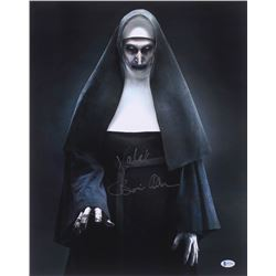 "Bonnie Aarons Signed ""The Nun"" 16x20 Photo Inscribed ""Demon Nun Valak"" (Beckett COA)"