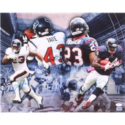 Ben Tate  Arian Foster Signed Houston Texans 16x20 Photo (JSA COA)