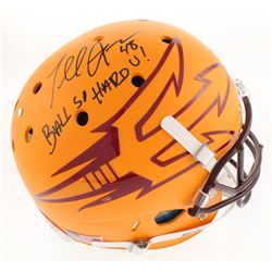 "Terrell Suggs Signed Arizona State Sun Devils Full-Size Helmet Inscribed ""Ball So Hard U!"" (Radtke C"