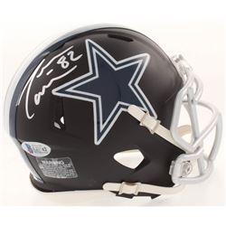 Jason Witten Signed Dallas Cowboys Matte Black Mini Speed Helmet (Beckett COA  Witten Hologram)