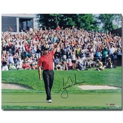 """Tiger Woods Signed """"73rd Victory"""" 16x20 Limited Edition Photo (UDA COA)"""