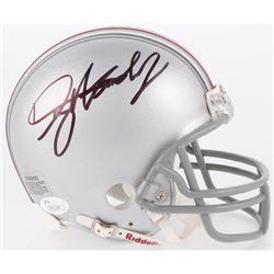Dwayne Haskins Signed Ohio State Buckeyes Mini Helmet (JSA COA)